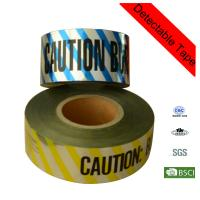 Quality 200m Yellow Electrical Line Plastic Underground Detectable Warning Tape for sale