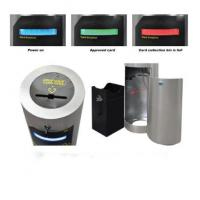 Buy Reusable access card system 100% accuracy dropbox visitor card collector for exit and entry at wholesale prices