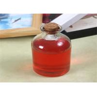 China 200ml Boston Round Bottles Juice Beverage Cooking Oil Kombucha Bottle With Cork on sale