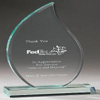 Quality Personalized 380 * 220mm  Acrylic Award Trophy Plaques Medal Customized for sale