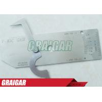 Quality Biting Edge Stainless Steel Welding Gauge Gage As Industrial Welding Equipment for sale