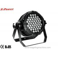 China Waterproof 54pcs*1W/3W RGBW  Led Par Cans , Par 56 Led Lights  LED lighting on sale