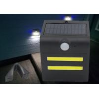 Quality Small Size 1.5W LED Solar Motion Light Warm / Red / Green / Blue Color for sale