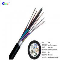 Buy Outdoor Fiber Optic Cable gyts G652D Duct 24 core single mode optical fiber at wholesale prices
