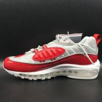 Quality Fashion Trend 2016 Nike Air Max 98 James Sport Shoes Red Black White Color Brand Max98 Basketball Sneaker Wholesale for sale
