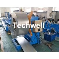 Quality Hydraulic Or Automatic Decoiler Machine With Automatically Uncoiling , Hydraulic Expanding , Tension for sale