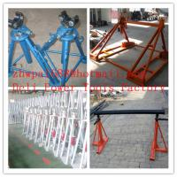 Quality Cable drum trestles, made of cast iron,Jack towers for sale