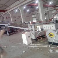 Quality High Performance ABS / HIPS Sheet Extrusion Machine For Refrigerator Plastic Extrusion Lines for sale