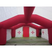 Promotional Giant Inflatable Tent For Medical , 0.55mm PVC Tarpaulin for sale