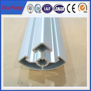 Quality aluminium extrusion profile factory price, 45X45R aluminum extrusion manufacturer for sale
