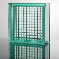 Quality Parallel Turquoise Glass Block for sale