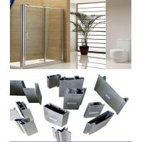 Quality Alloy 6000 T3- T8 Silver Polished Aluminium Extrusion Profiles For Shower Room Applicaton for sale