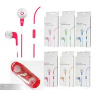 Quality Red Stereo Earphone Replacement with Silicon Case for  IPhone for sale