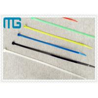 Quality Flexible PA66 Nylon Cable Ties 60mm Heat Resistant Erosion Control CE Certificate for sale