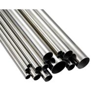 Quality ASTM A554 Stainless Steel Welded Tubing, Polished, Plain End , TP304 / 304L TP316 / 316L TP321 / 321H for sale