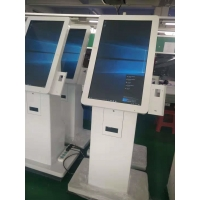 Quality 300cd/m2 19in Touch Screen LCD Kiosk With Fiscal Pos Machine for sale