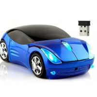 China Wireless Mouse Infiniti Sports Car Mouse 2.4Ghz USB Computer Mice Optical with LED Flashing Light on sale