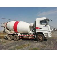 Quality SANY Used Concrete Mixer Trailer , Used Portable Cement Mixer 6*4 Drive Mode for sale