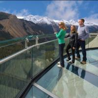 Buy cheap Modern  side mounted handrail aluminum U channel glass railing  for stair balustrade cost from wholesalers