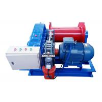 China Small Size Electric Motor Powered Cable Pulling Winch 10 Ton For Lifting on sale