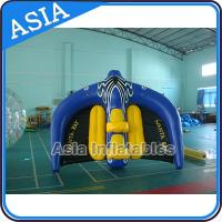 Quality 0.9mm PVC Tarpaulin Inflatable Flying Manta Ray / Fly Fish Inflatable Water Parks for sale