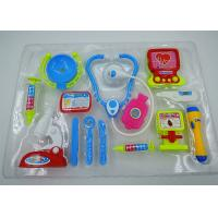 Quality Role Play Medical Kit Playset Doctor Set Toys For Kids Pink Blue Colors 13 Pcs for sale