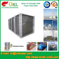 Quality High Pressure Water Tube Boiler Air Preheater Vertical TUV Certification for sale