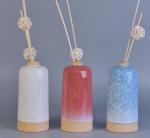 Quality Transmutation Glaze Ceramic Aroma Empty Diffuser Bottles And Reeds Custom for sale