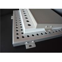 Buy Punched Perforated Aluminum Panels Perforated Sheet Metal Panels With Customized at wholesale prices
