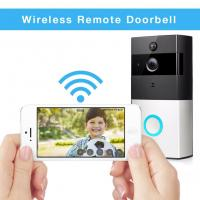 Quality Wireless Battery Powered Smart Video Doorbell Low Power Consumption 720P WiFi Video Door Phone for sale