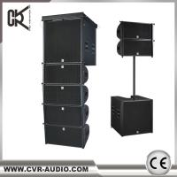 CVR active 10 inch line array with 18 inch woofer speaker indoor or outdoor sound equipment for sale