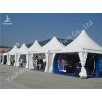 Buy cheap Custom Exhibition High Peak Frame Tent Pagoda Replacement Canopy Pavilion from wholesalers