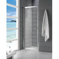 Quality 6mm Tempered Glass Fully Enclosed Shower Cubicle Frameless Sliding 800 × 1850mm for sale
