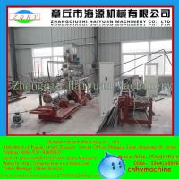 Quality Golden supplier with CE for 5tons/h floating fish feed extruder machine for sale