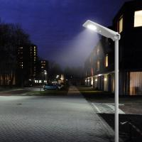 Quality 1800LM Remote Control Street Light 15 Watt PV Module IP65 With MPPT Controller for sale