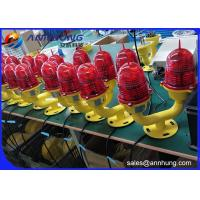 Quality Double Led Aviation Obstruction Light for High Structures and Towers for sale