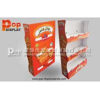 Quality 3 Tiers Corrugated Pop Display  Stand / Necklace Display Stands for sale