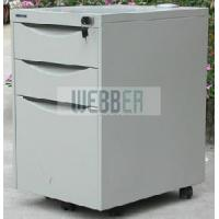 Quality Metal Mobile 3-Drawer Pedestal for Office Storage for sale