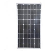 China 100W Siliver Corrugated Solar Power Panels , Mono Silicon Solar Panels For Outdoor Use for sale