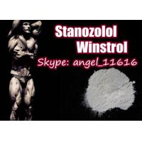 Quality Pharmaceutical Stanozolol Oral Steroids Winstrol White Powder For Muscle Growth for sale