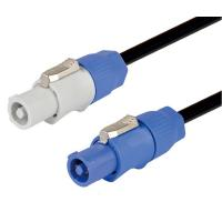 Powercon Power Cable , 250V Powercon Connector Electrical Power Extension Cable for sale