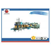 Quality Drop Packer Shrink Wrap Packaging Machine Stable Performance 380V 6KW 2500 * 1800 * 2600mm for sale