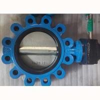 China Ductile Cast Iron Butterfly Valve 4IN PN25 Fully Lugged Butterfly Valve on sale