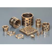 China CHB-JDB Oilless Copper solid enchase self-lubricating bronze bearing on sale