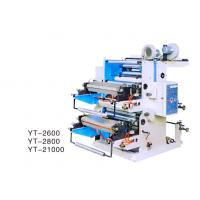 Quality Automatic Two Colour Flexographic Printing Machine For Printing Roll Plastic YT-2800 for sale