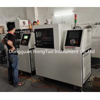 Quality PLC Touch Screen Small Flat Vulcanizing Machine For PE Plastic 5-30 Ton Capacity for sale