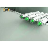 Quality Teaching 520nm Green Laser Pointer /  Strong Laser Pointer Silver Switch for sale