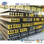 Quality DIN Standard Steel Rail A100, A55, A65, A75, A120 for sale