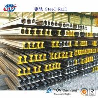 Quality DIN Standard Steel Rail A100, A55, A65, A75, A120 for sale