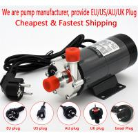 Quality HomeBrew Pump MP-15R Food Grade 304 Stainless Steel Brewing 220V Magnetic Water Pump Temperature 140C 1/2 BSP/NPT for sale
